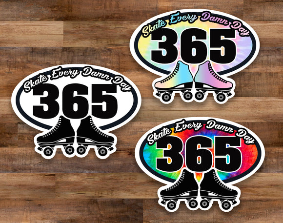Skate Every Day Decal