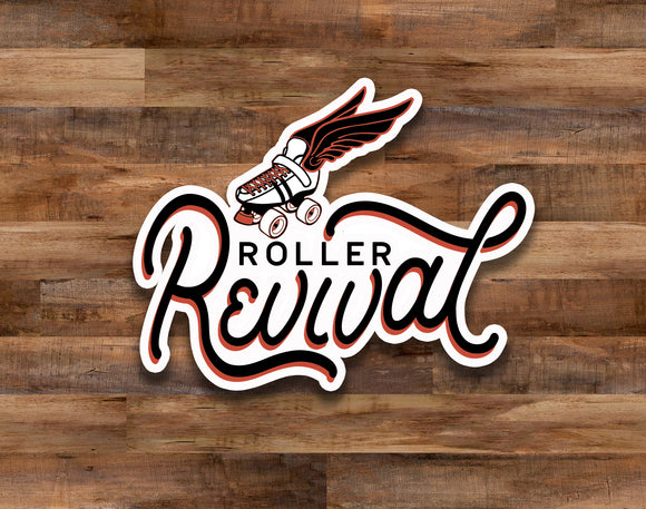 Roller Revival Decal