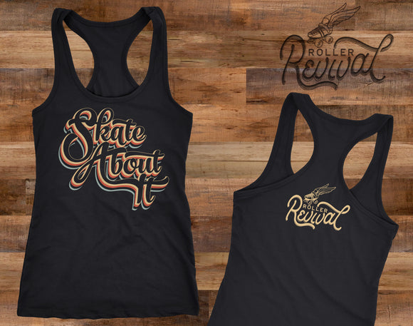 SALE! Skate About It Racerback Tank Top