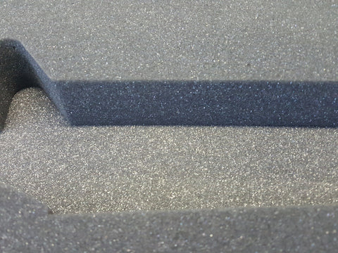 compare the cut-foam inserts