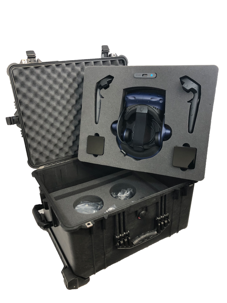Pelican Case 1620 Foam Insert for HTC Vive VR System (FOAM ONLY)-Cobra Foam Inserts and Cases
