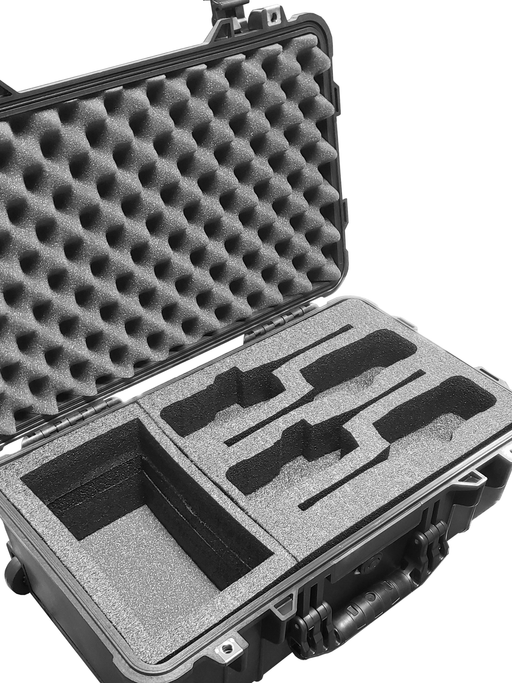 Pelican Case 1610 Custom Foam Insert for Tait Walkie Talkie Radio and Charger