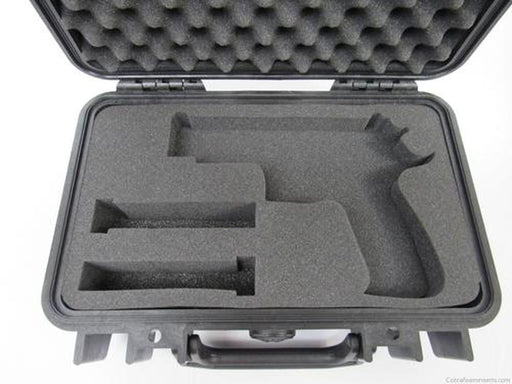 Pelican Case 1170 Custom Foam Insert for Smith & Wesson M&P V.2.0 With Magazines (Foam-Cobra Foam Inserts and Cases
