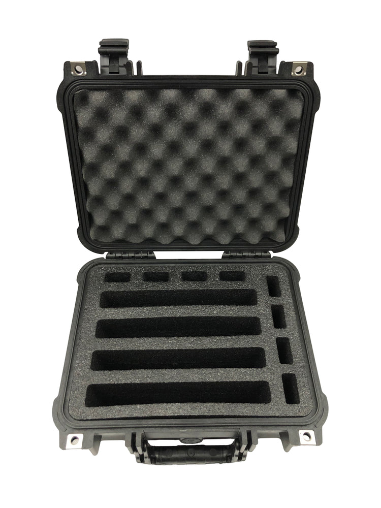 Pelican Case 1400 Range Case Foam Insert for 4 Handguns and Magazines (FOAM ONLY)
