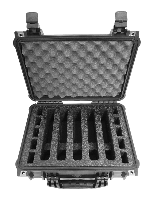 Pelican Case 1450 Range Case Foam Insert for 5 Handguns and Magazines (Foam ONLY)