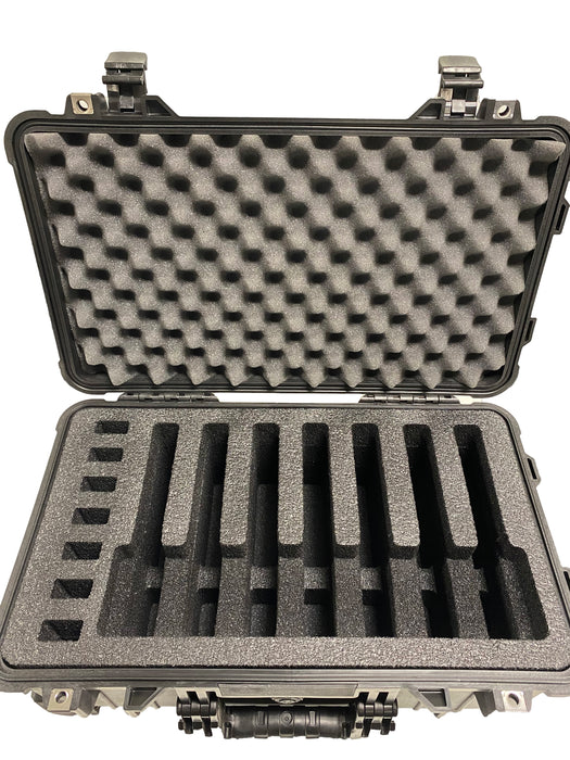 Pelican Air Case 1535 Range Case Foam Insert for 7 Handguns and Magazines (Foam ONLY)