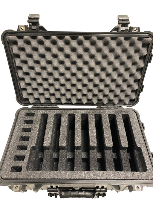 Pelican Case 1510 Range Case Foam Insert for 7 Handguns and Magazines (Foam ONLY)