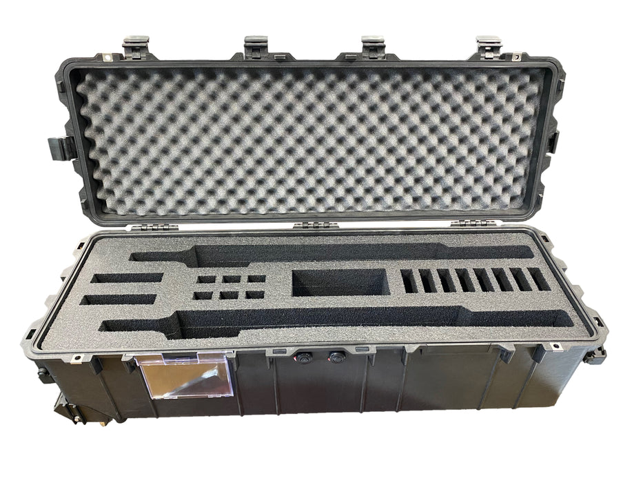 Pelican Case 1740 Foam Insert For 2 Rifles (FOAM ONLY)