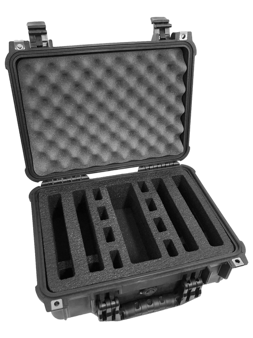 Apache 3800 Range Case Foam Insert for 4 Handguns and Magazines (Foam ONLY)