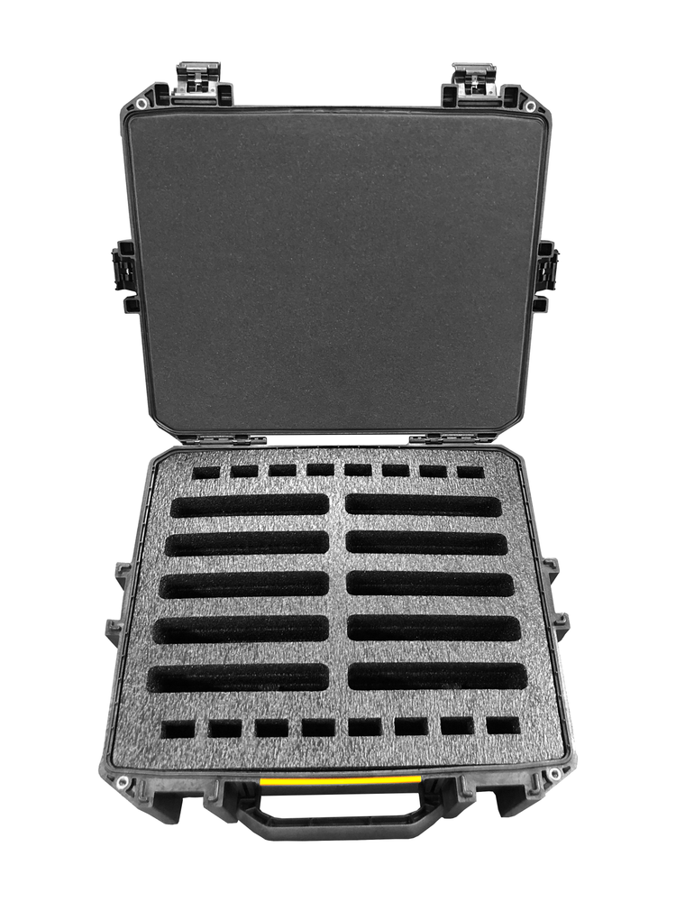 Pelican Case 1510 Custom Foam Insert for 8 Tait Walkie Talkie Radios (FOAM ONLY)-Cobra Foam Inserts and Cases