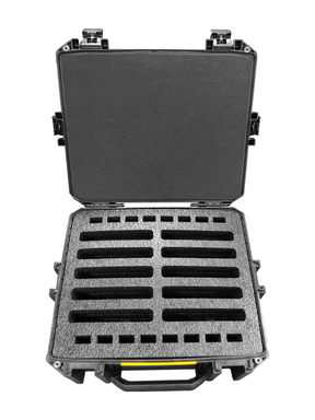 Pelican Case 1510 Custom Foam Insert for 8 Tait Walkie Talkie Radios (FOAM ONLY)