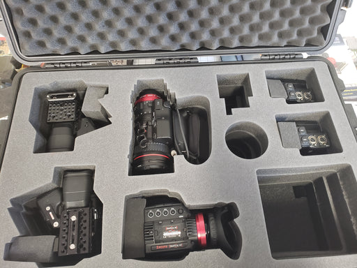 Pelican Case 1660 Foam Insert for Sony Camcorder & Gear