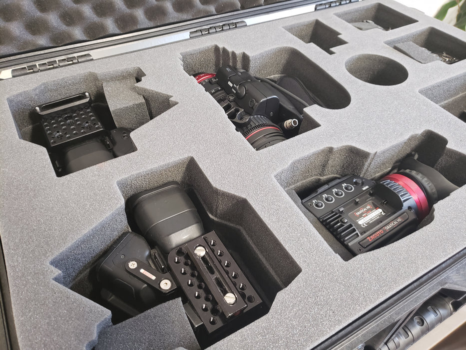 Pelican Case 1650 Foam Insert for Camcorder and Accessories