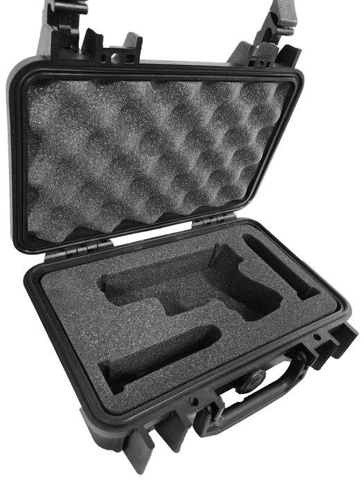 Pelican Case 1170 Custom Foam Insert for Glock 27 Handgun and 2 Magazines (Foam Only)-Cobra Foam Inserts and Cases