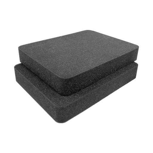 Pelican Storm Case iM2370 Replacement Foam Insert 2 Pieces Round Corners
