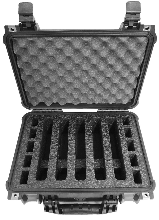 Elkton Outdoors Range Case Foam Insert for 5 Handguns and Magazines (FOAM ONLY)-Cobra Foam Inserts and Cases