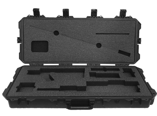 MK12 SPR Rifle Foam Insert for Pelican case 1700 (Polyethylene)-Cobra Foam Inserts and Cases