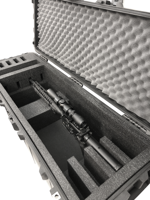 Pelican Case 1740 Foam Insert for 4 AR Rifles (Foam ONLY)