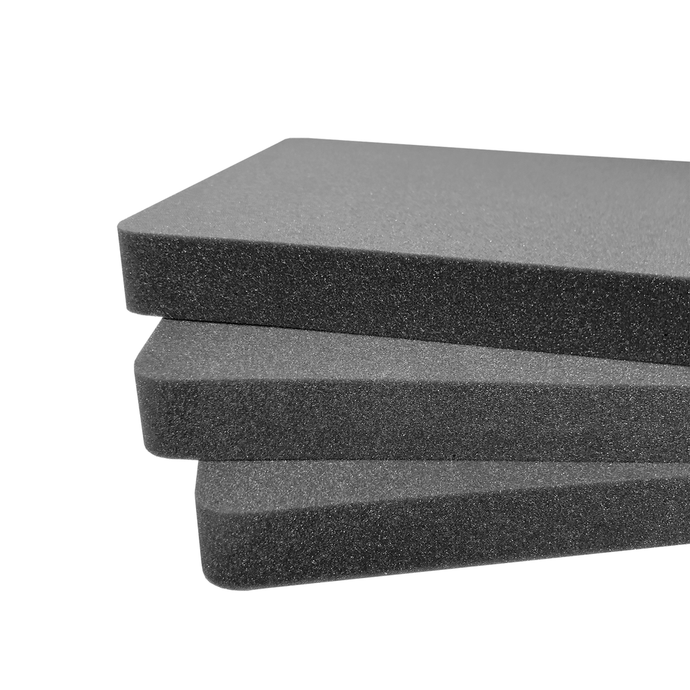 Pelican Case 1750 Replacement Foam Inserts Set (3 Pieces)