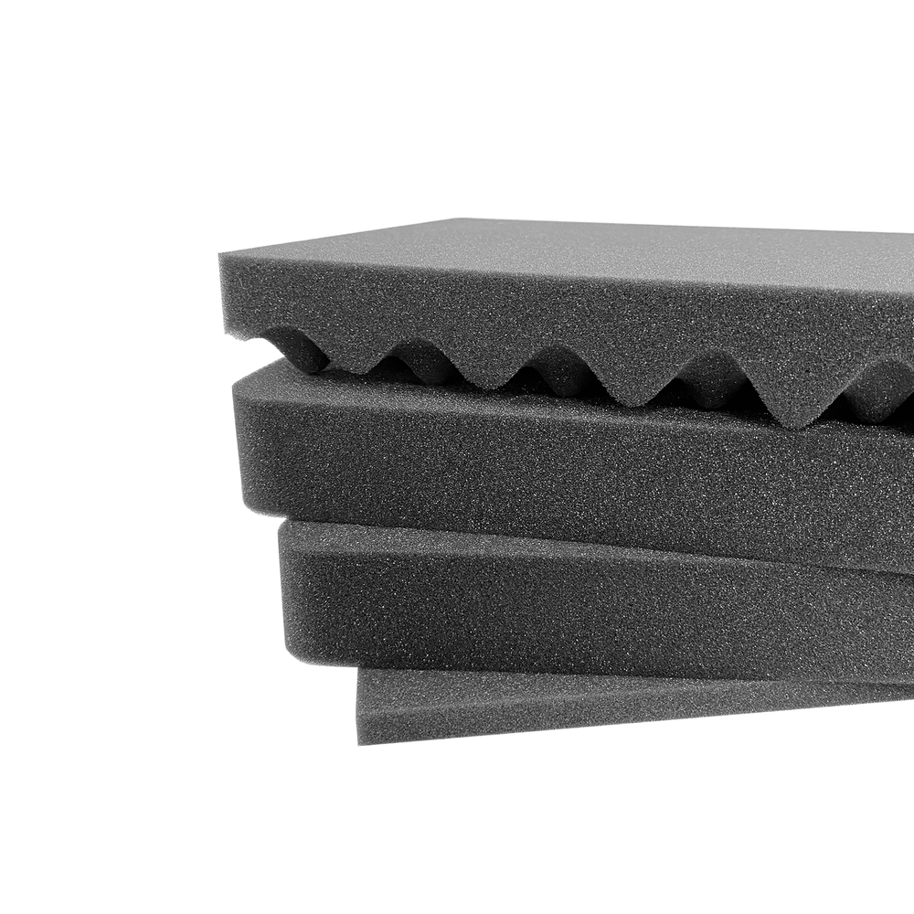 Pelican Air Case 1555 Replacement Foam Inserts Set (4 Pieces)