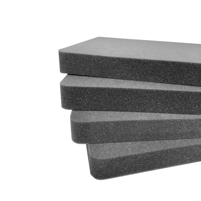 Pelican Case 1740 1741 Replacement Foam Inserts Set (4 Pieces)