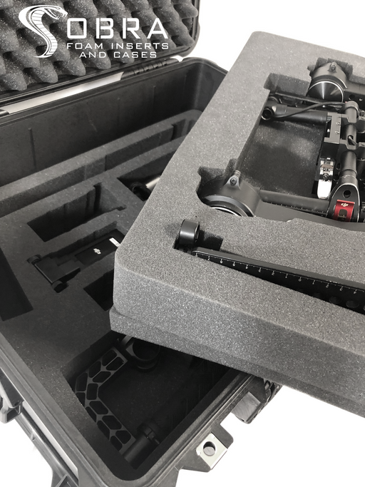 DJI Ronin Foam Insert For Pelican 1610 Case (FOAM ONLY)