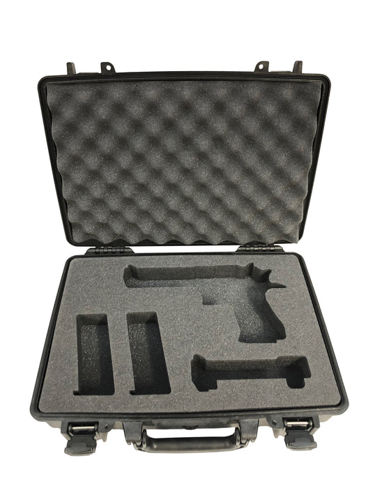 Pelican Case 1470 Replacement Foam Inserts Set for Desert Eagle, Extra barrel and Magazines (3 Pieces)