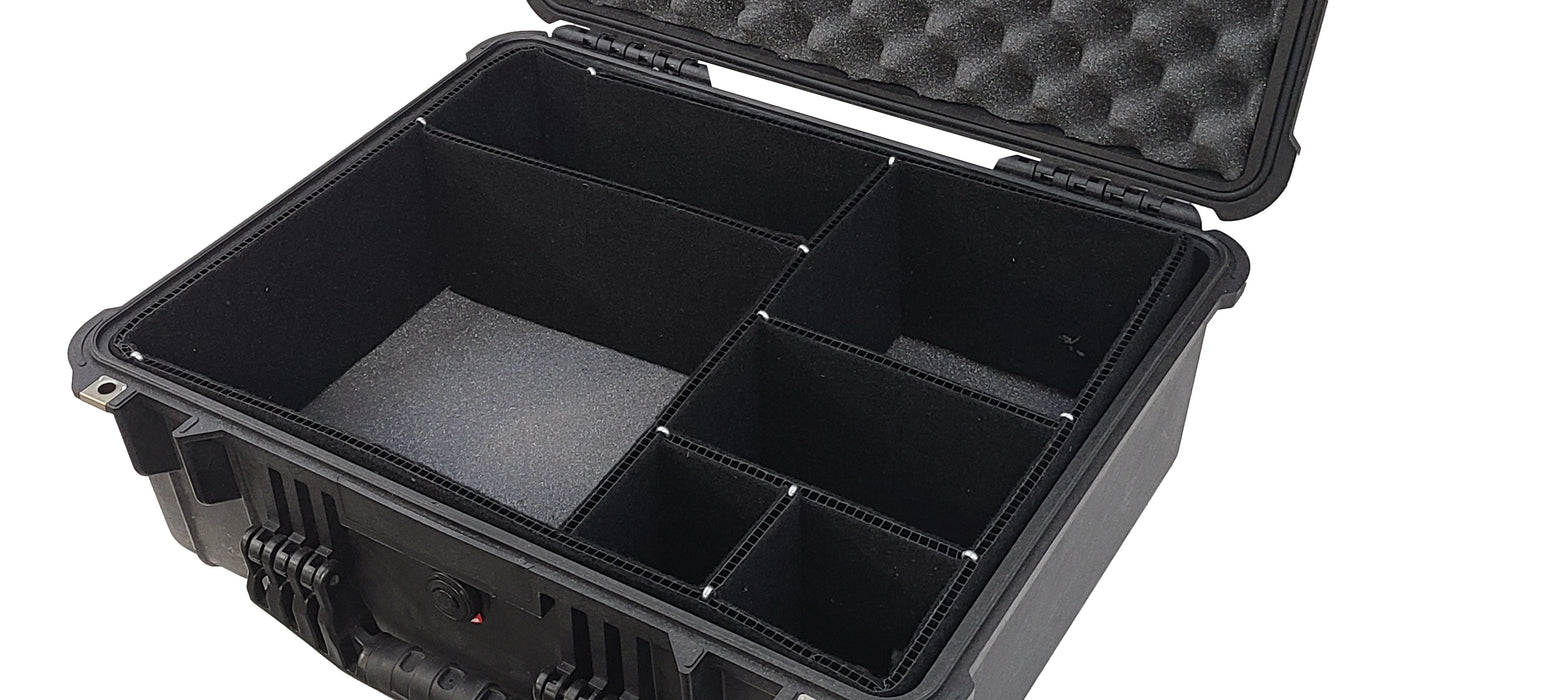 Case Divider System for Pelican Cases