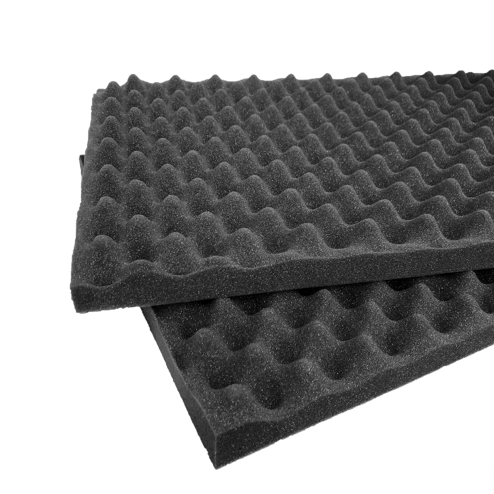 Pelican 1750 Replacement Convoluted Foam Inserts (2 Pieces)-Cobra Foam Inserts and Cases