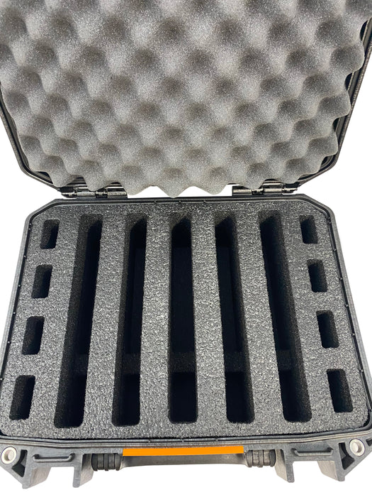 Pelican Vault Case V200 Range Case Foam Insert for 5 Handguns and Magazines