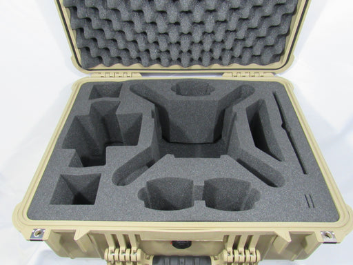 Pelican Case 1600 Foam Insert for Phantom 4 Drone