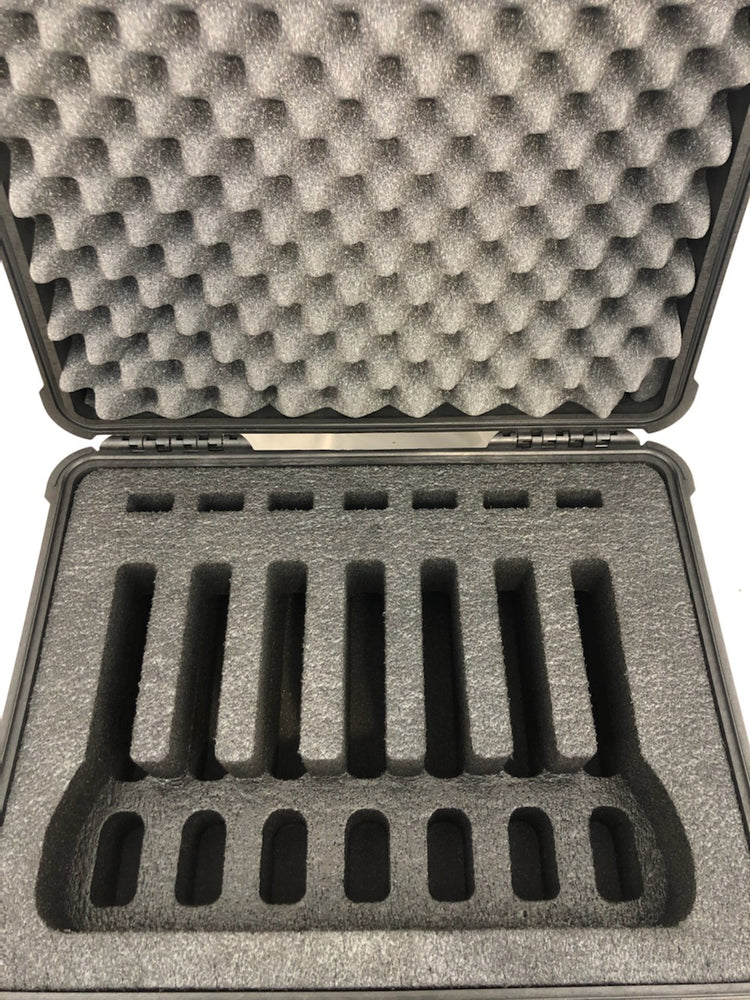 Pelican Case 1550 Range Case for 7 Handguns and Magazines (FOAM ONLY)
