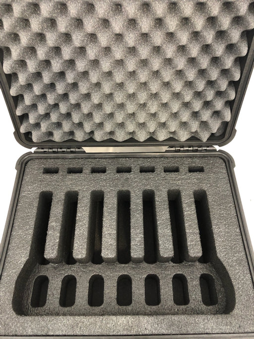 Nanuk 950 Range Case Foam Insert for 7 Handguns and Magazines (FOAM ONLY)