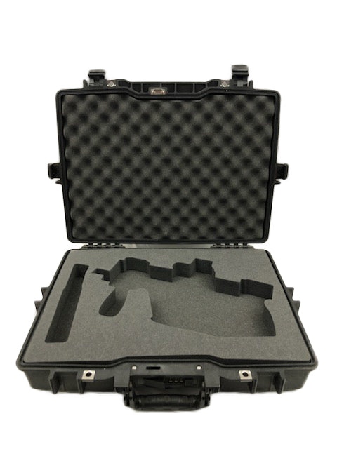 Pelican 1490 Case for Kris Vector Rifle Folded