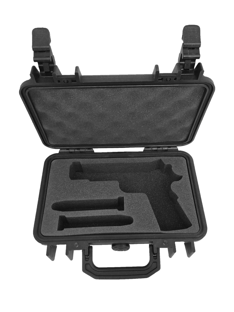 Pelican Case 1170 with Foam Insert for 1911 Pistol & Magazines (CASE & Foam)