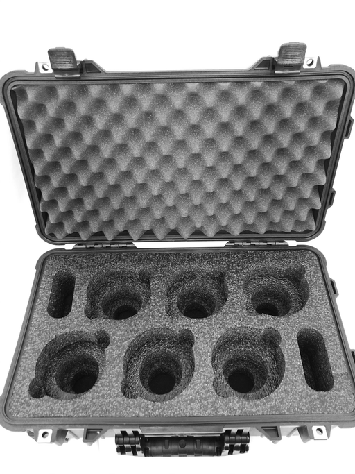 Canon CN-E Prime Lenses Foam Insert For Pelican Case 1510 (Foam Only)-Cobra Foam Inserts and Cases