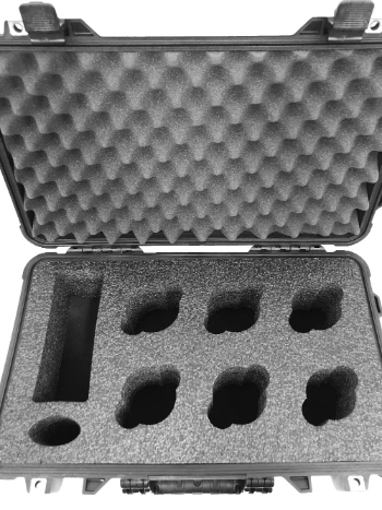 Pelican Case 1510 Foam Insert for 6 Lenses and Accessories (Foam Only)-Cobra Foam Inserts and Cases