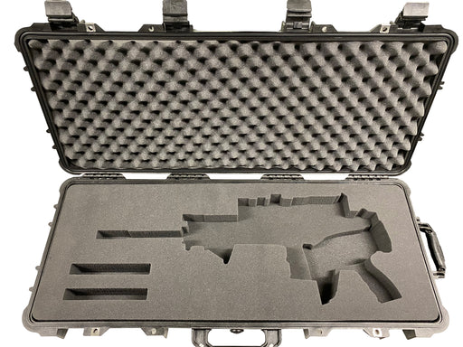 FN Scar 17S Rifle with Folded Stock Foam Insert for Pelican 1700