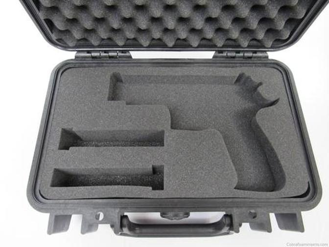 Pelican Case 1170 Custom Insert for Sig Sauer 226 Elite & Magazines (Foam ONLY)