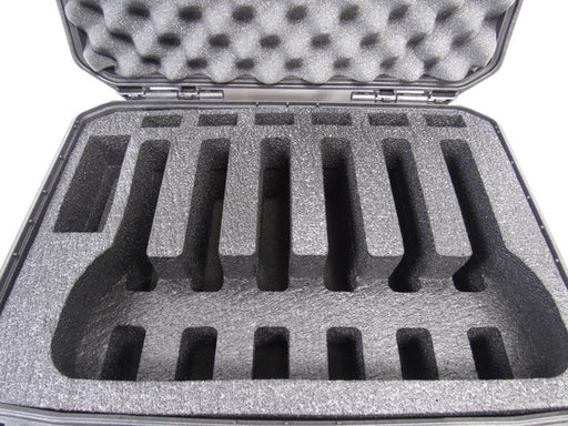 Plano Case 109170 Range Case Foam Insert for 6 Handguns and Magazines (POLYETHYLENE Foam)