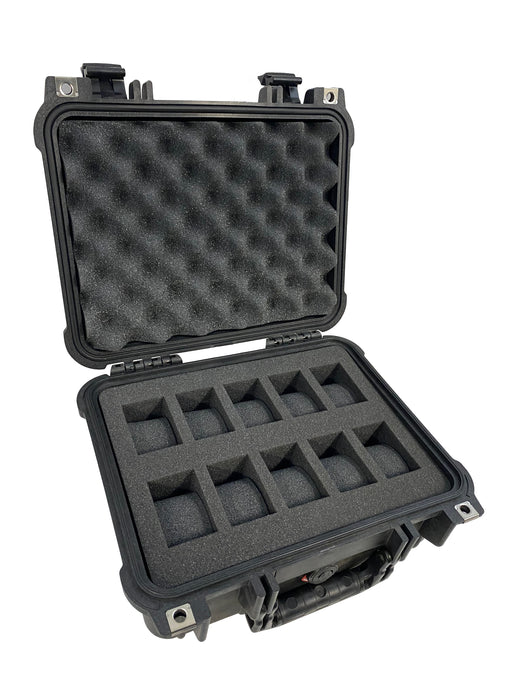 Pelican Case 1400 with Foam Insert for 10 Watches
