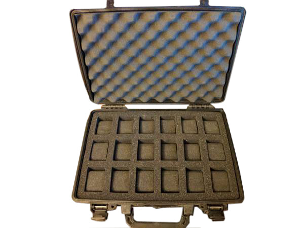 Pelican Case 1470 with Foam Insert for 18 Watches