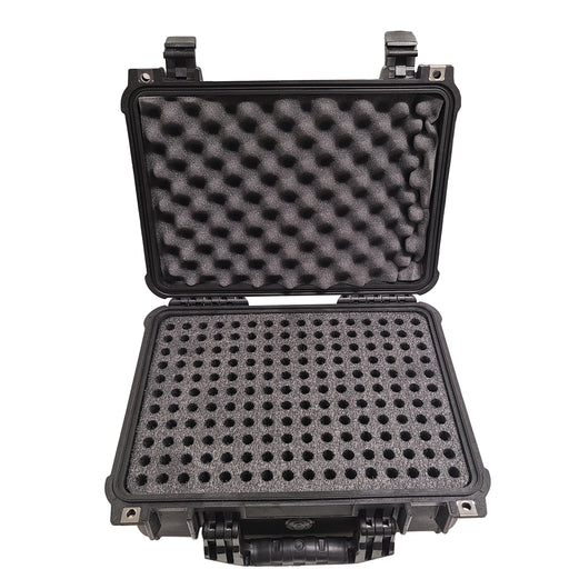 Pelican 1525 Air case foam with 312 holes for ammo