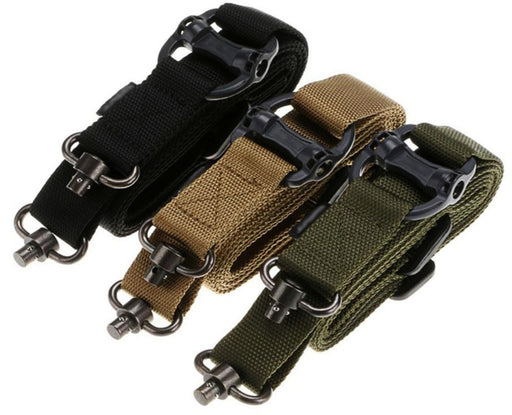 Gun Sling Strap Quick Detach QD Swivel Dual Two Points