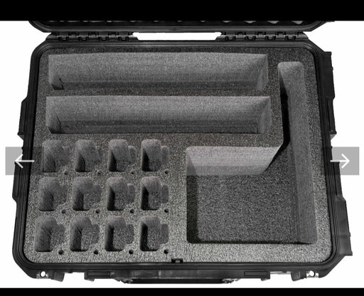 Pelican Case 1560 Foam Insert for Motorola CP200 Walkie Talkie Radio (FOAM ONLY)-Cobra Foam Inserts and Cases