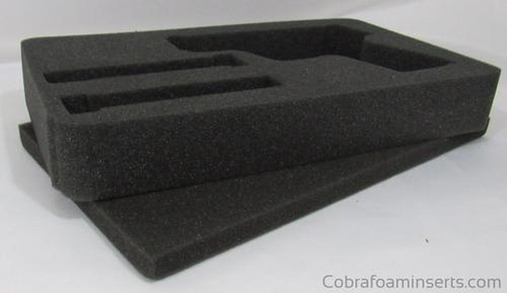 Pelican Case 1170 Custom Foam Insert for Smith & Wesson Shield & Magazines (Foam Only)-Pelican-Cobra Foam Inserts