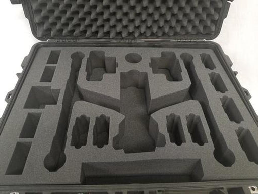 DJI Inspire 2 Drone Foam Insert for Pelican Storm Case iM 2975 Travel Mode (Foam Only)-Cobra Foam Inserts-Cobra Foam Inserts