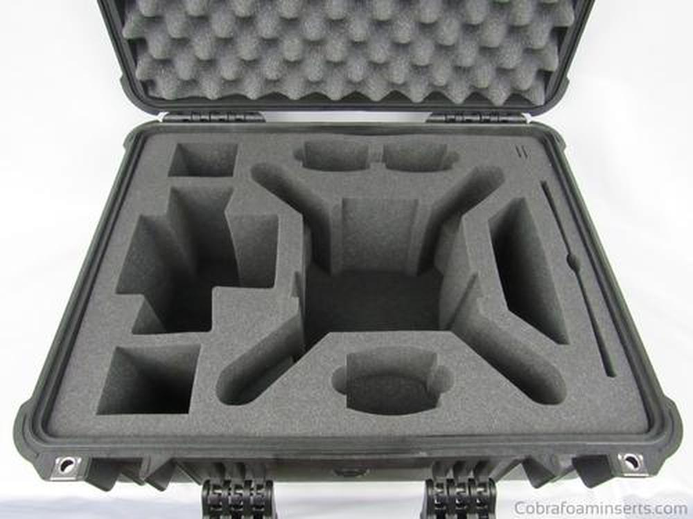 Camera/Video - DJI Phantom 4 Drone Foam Inserts For Pelican Storm Case IM 2620
