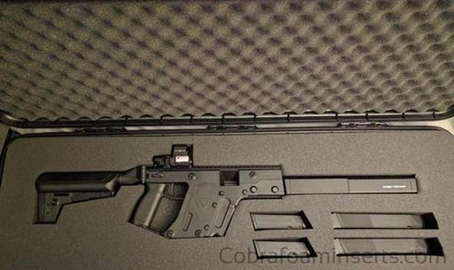 "Precut - Kriss Vector Rifle Foam Insert For Plano 42"" Case"