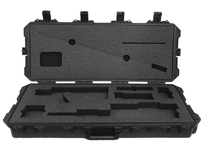 MK12 SPR Rifle Foam Insert for Pelican Storm Case iM 3100 (Polyethylene)